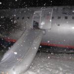Неудачная посадка самолета сорвала работу калининградского аэропорта