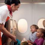 Перелет ребенка на самолете без сопровождения