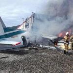 """Самолет Ан-24 авиакомпании """"Ангара"""" совершил аварийную посадку в Бурятии"""