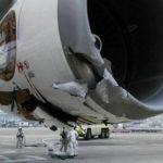 Самолет Iron Maiden повредили во время буксировки