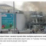 В брюссельском аэропорту произошли взрывы