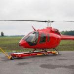 В Грузии разбился вертолет Bell-505